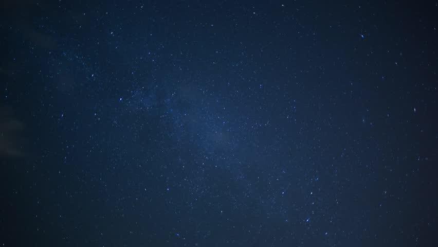 Stars, Space, Milky Way Galaxy, Time Lapse-4K Stock ...