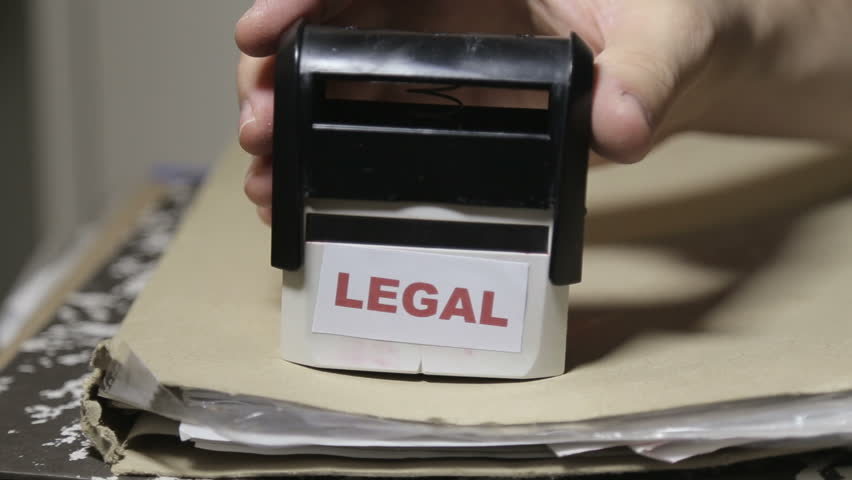 Shot of Legal approval concept | Shutterstock HD Video #13455320