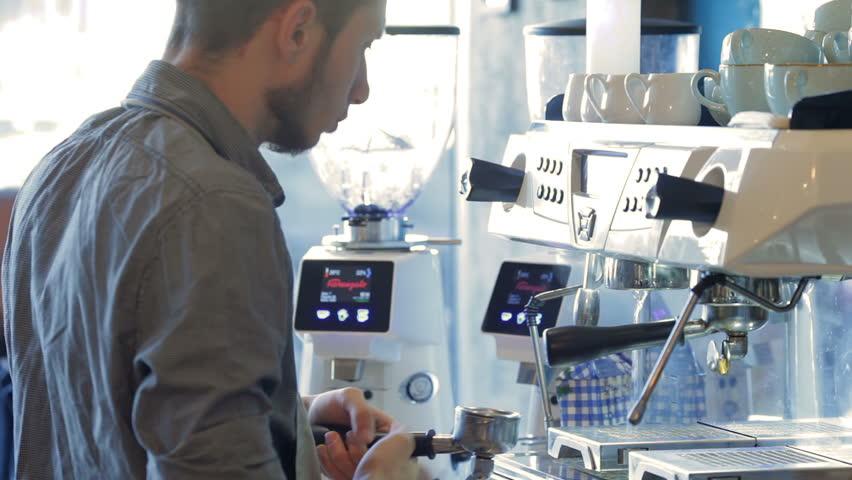 Barista preparing espresso   Shutterstock HD Video #13792577