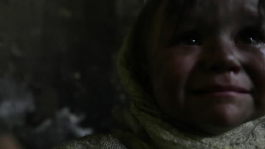War. Beggar child. Refugees. | Shutterstock HD Video #13831385