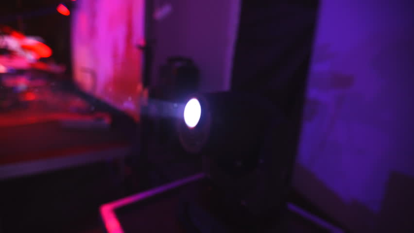 Lighting equipment for clubs and concert halls 3 | Shutterstock HD Video #13847009
