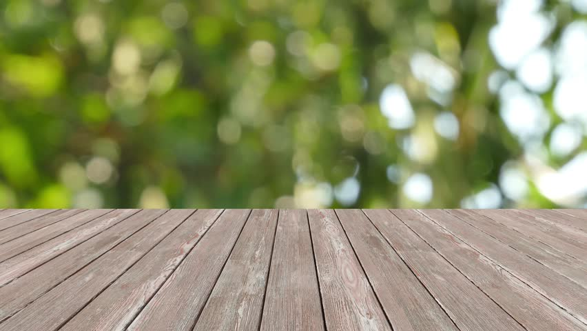Wood Table Perspective perspective wood and bokeh light background ...
