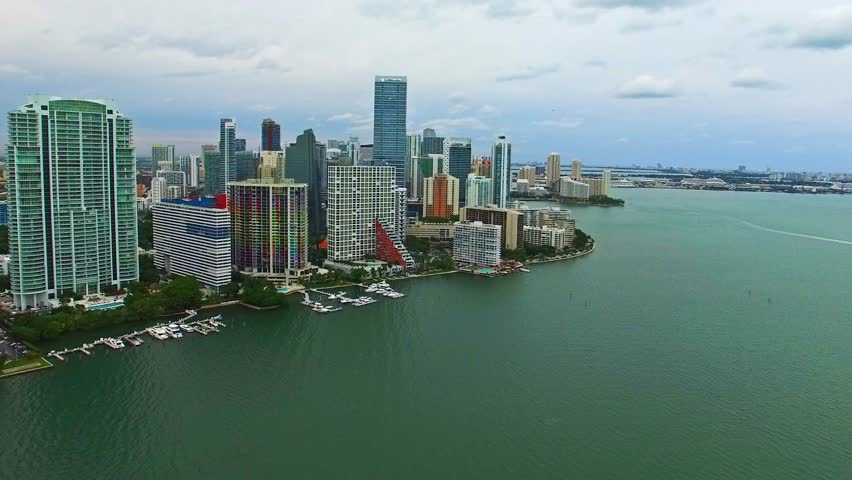 4k aerial video sunny isles beach florida with fishing for Miami fishing piers
