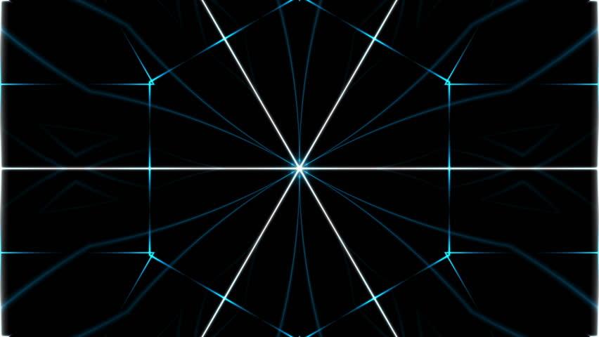 Dark abstract background, kaleidoscope light, loop | Shutterstock HD Video #13943741
