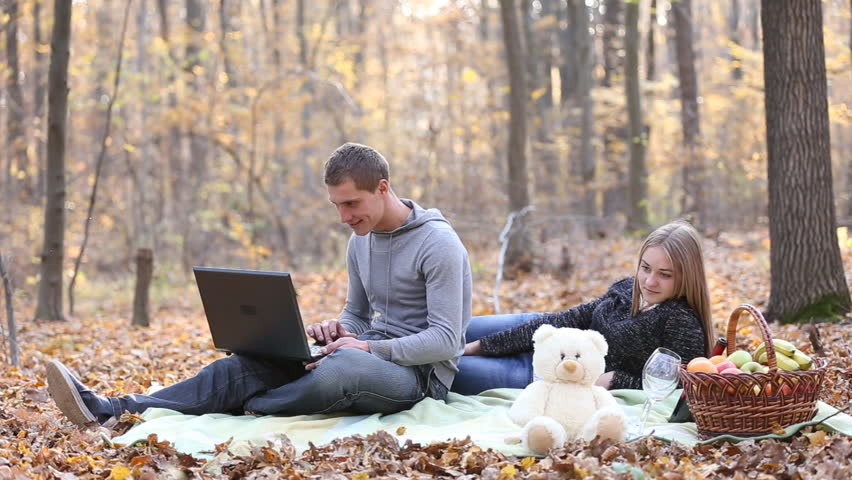 Couple with laptop | Shutterstock HD Video #13999127