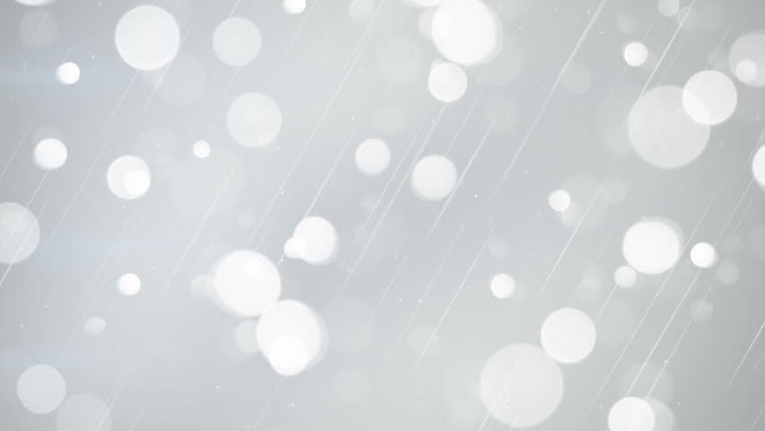 White bokeh lights. seamless loop abstract motion background. 4k (4096x2304)