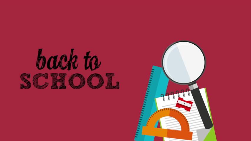 Back to school design, Video Animation  | Shutterstock HD Video #14178236