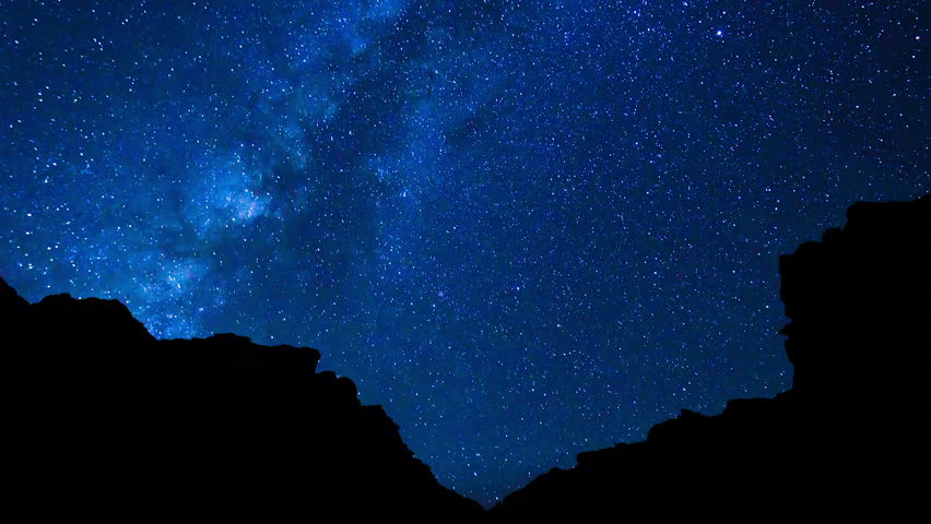 Star Time Lapse of Night Sky