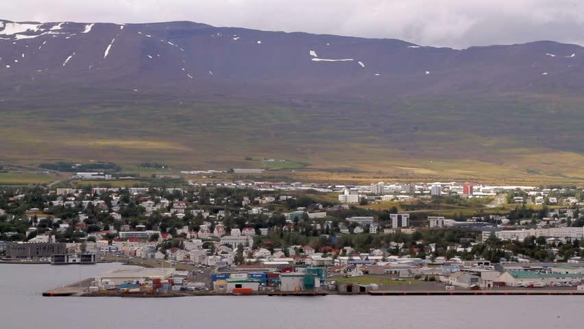 Header of Akureyri