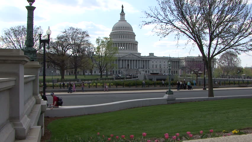 capital building - HD stock footage clip