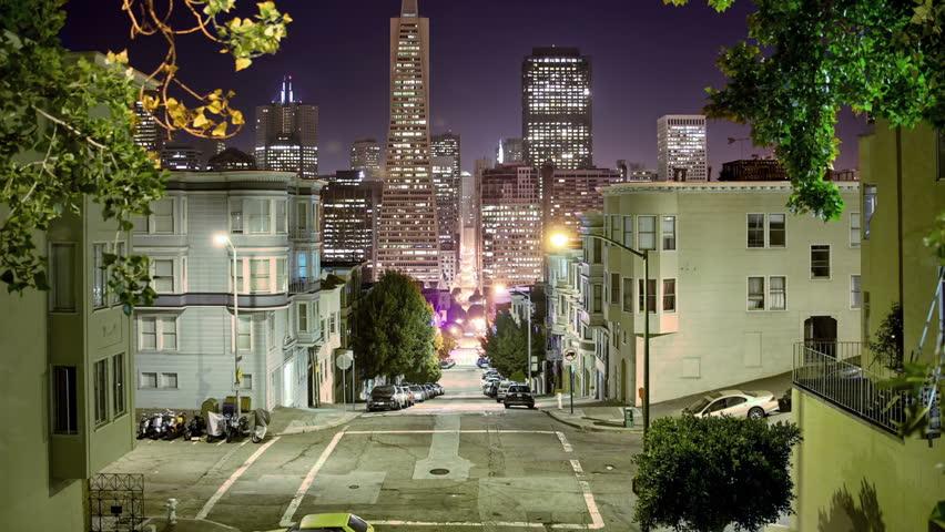 San Francisco Street timelapse
