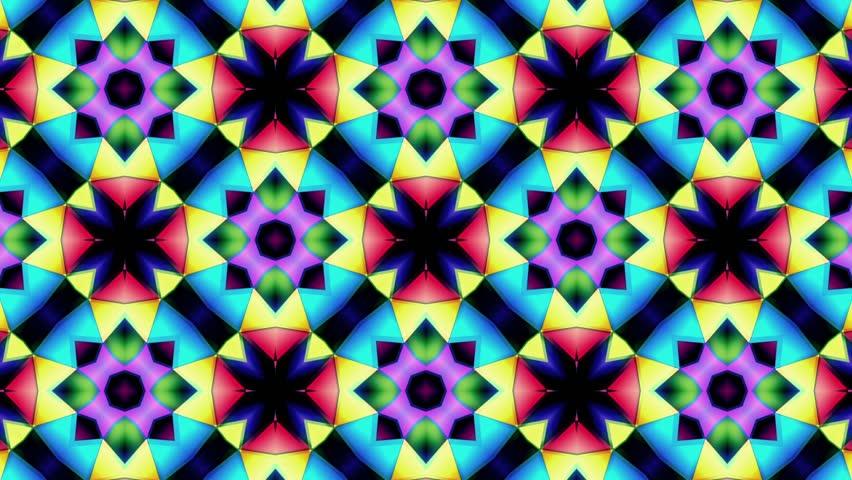 Kaleidoscope - Many Colors Step Loop