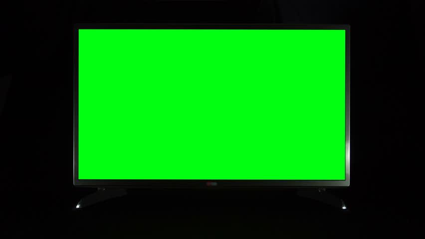 3d Render Of Video Billboard Green Screen Stock Footage