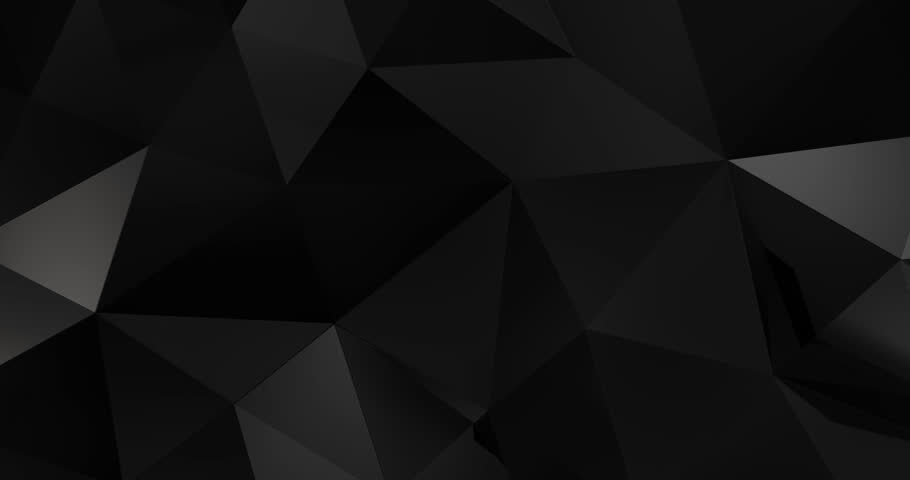 3d black abstract material design background loop 4k | Shutterstock HD Video #18933008