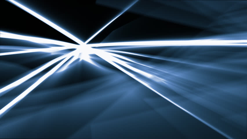 Abstract motion backround with white and blue lines | Shutterstock HD Video #2055002
