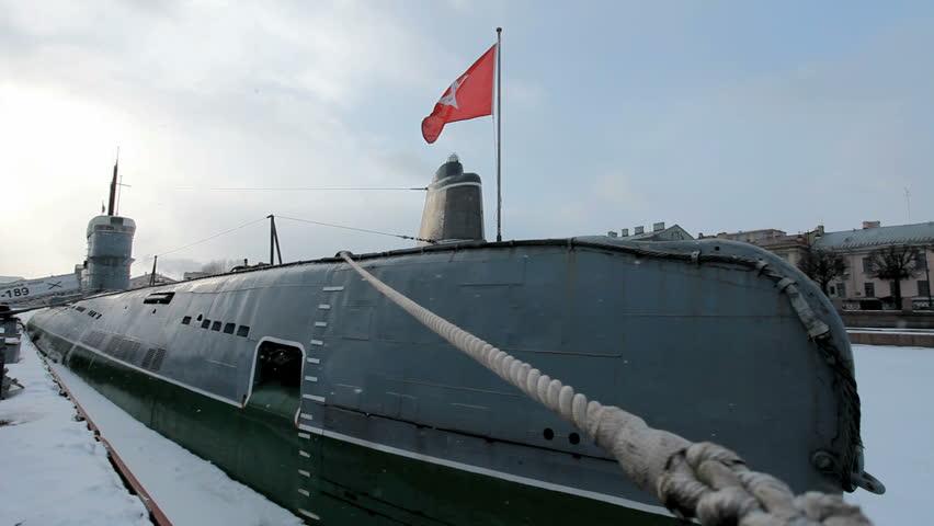 подводная лодка футаж