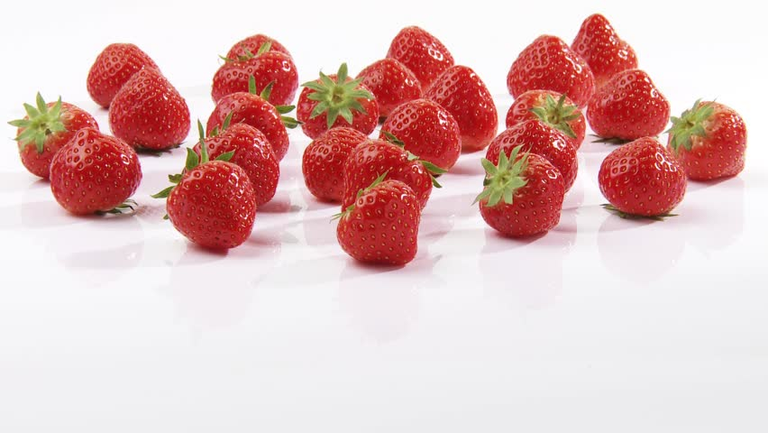 Strawberries - HD stock video clip