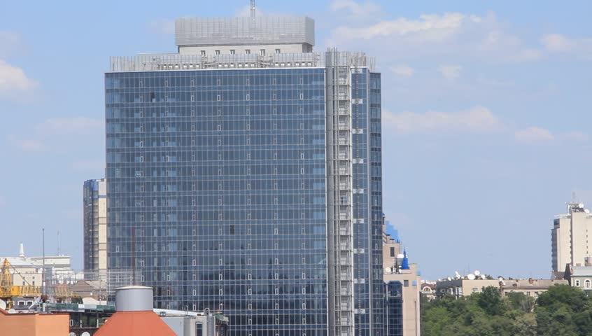 View of Kiev - HD stock video clip