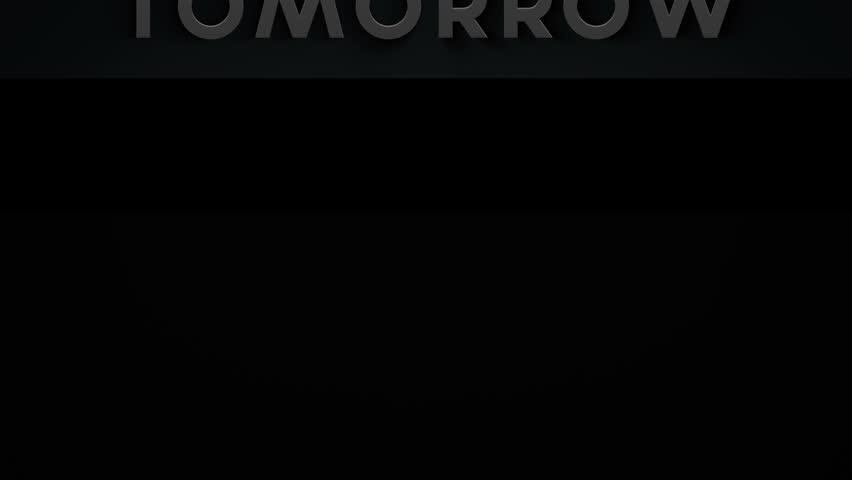 Banner - Tomorrow - 1
