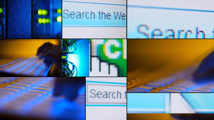 Search web - montage