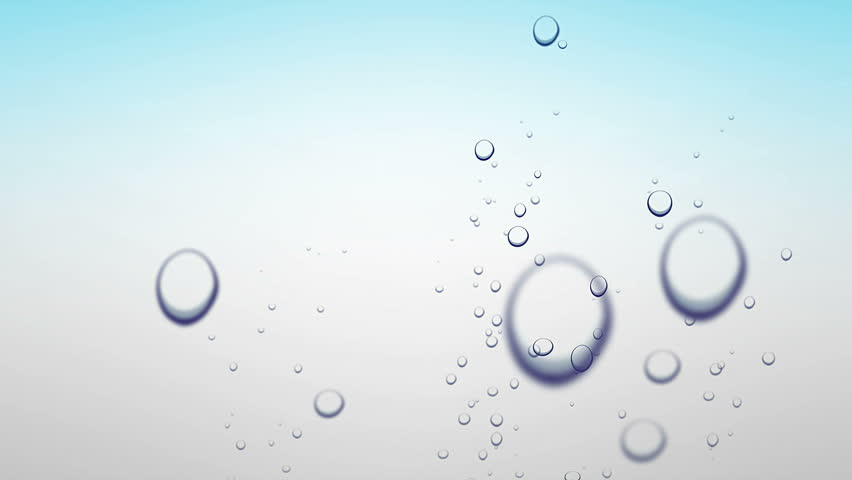 """Air bubbles in blue water background ( series 2 - Version from 1 to 7 ) """" Thing Different """" + + """" You can find every week new Footage """"  + """" Have a look at the other Footage series """""""