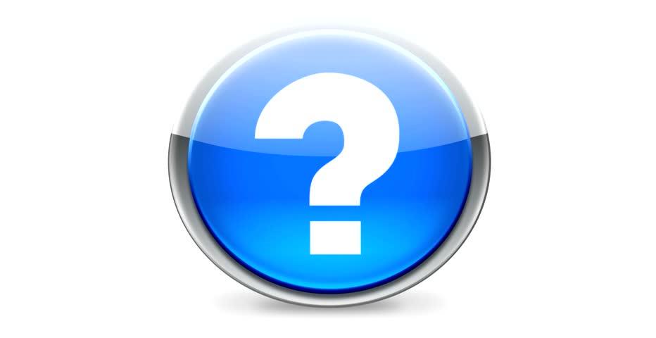Question mark - Round button | Shutterstock HD Video #2142626