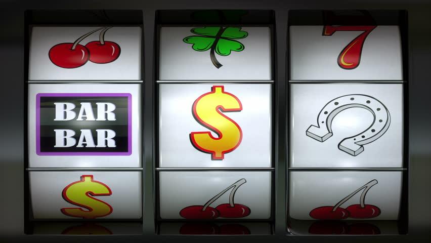 Slot Machine animation showing winning animation | Shutterstock HD Video #24255455