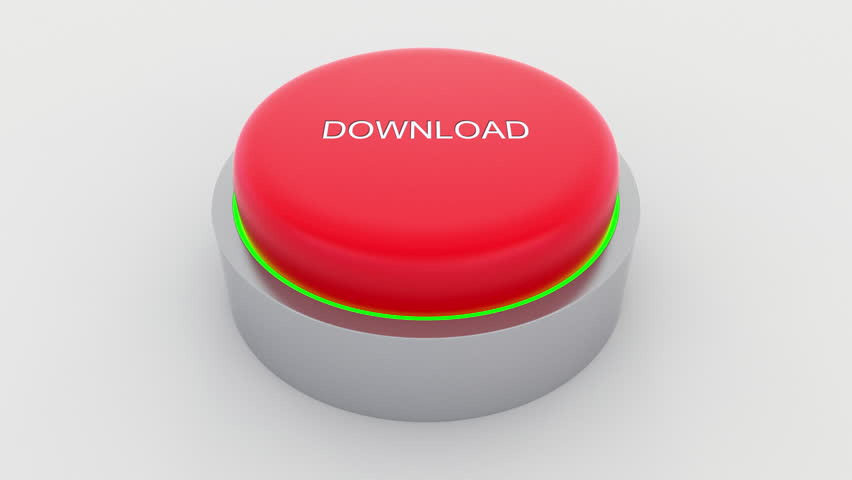 Big red button with download inscription being pushed. Conceptual 4K clip | Shutterstock HD Video #24301445