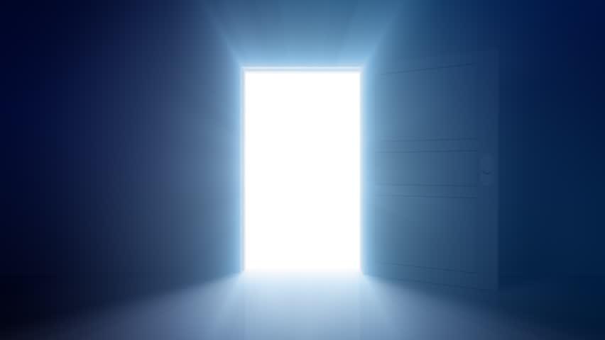 Door Opening. - HD stock video clip