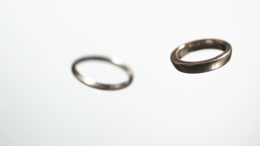 spinning wedding ring stock footage video 200182