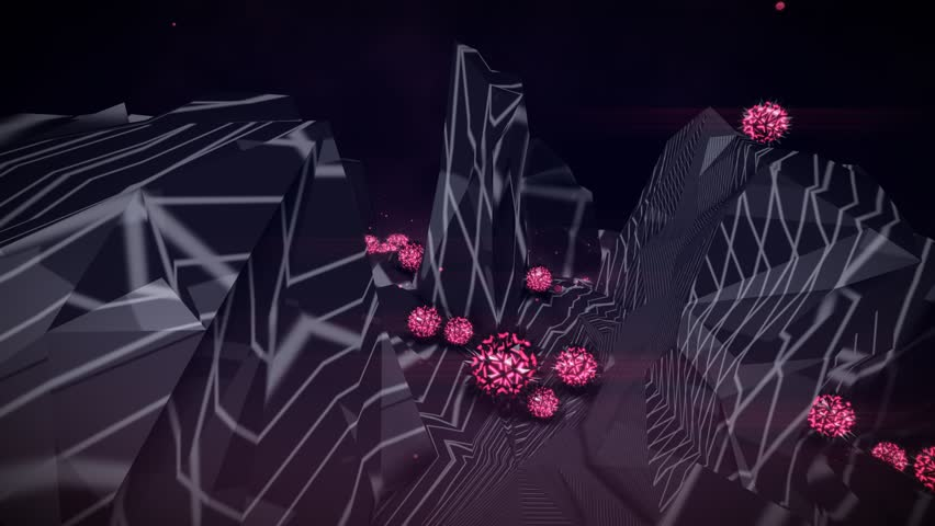 Seamlessly Looping Background Animation Of Beat Sync Objects Morphing To 128Bpm. | Shutterstock HD Video #25104110