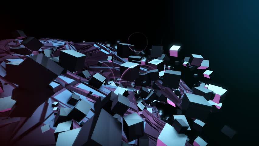 Seamlessly Looping Background Animation Of Beat Sync Objects Morphing To 128Bpm. | Shutterstock HD Video #25104137