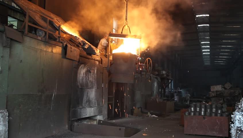 foundry, steel plant
