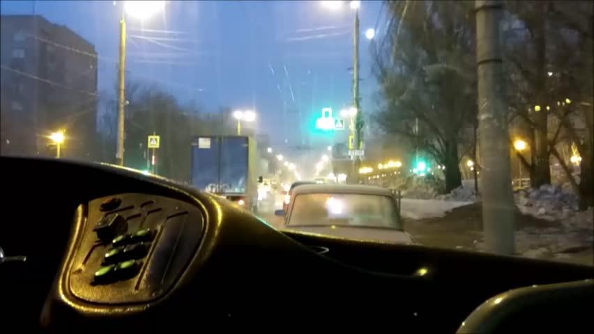 Time-lapse ride public transport in Russia | Shutterstock HD Video #25190852