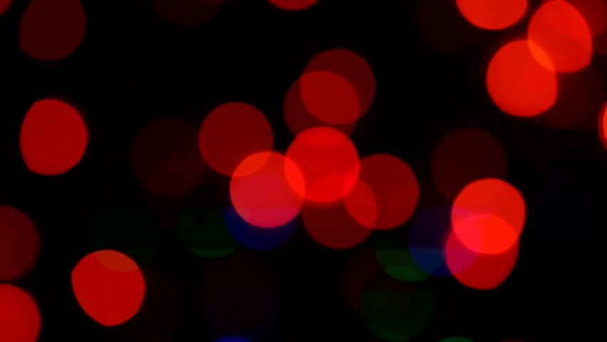 Party lights out of focus flashing on a black background | Shutterstock HD Video #25193768