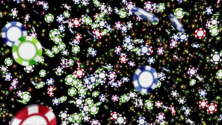 Many Casino chips, CG Animation, Loop, | Shutterstock HD Video #25201148