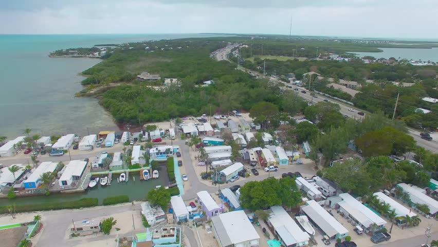 Overseas highway aerial view, Islamorada - Florida, USA. | Shutterstock HD Video #25221407