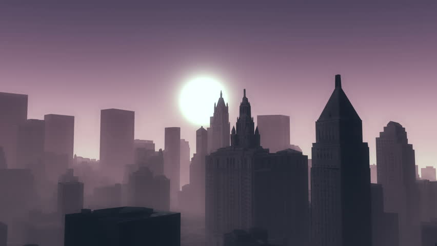 4k,timelapse sunsets,urban business building and skyscrapers background,New York City Scene. cg_03834_4k | Shutterstock HD Video #25279628