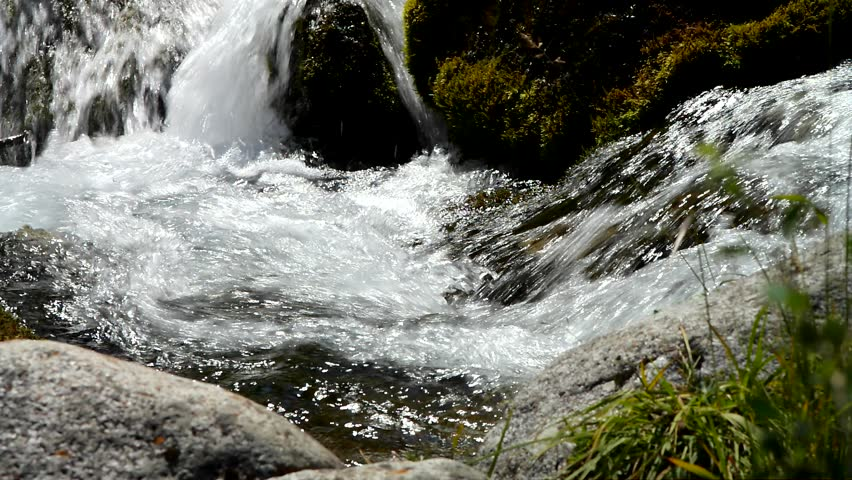 Mountain River - HD stock footage clip