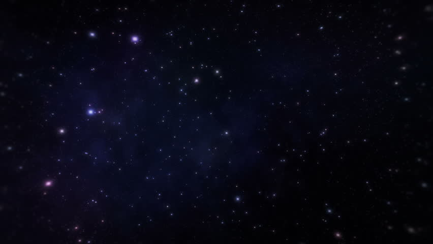 Space travelling - the speed of light | Shutterstock HD Video #2557454