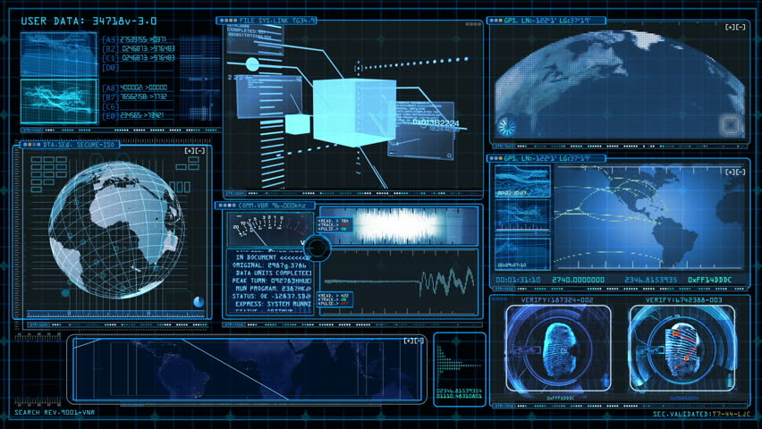 Technology Interface Computer Data Screen GUI