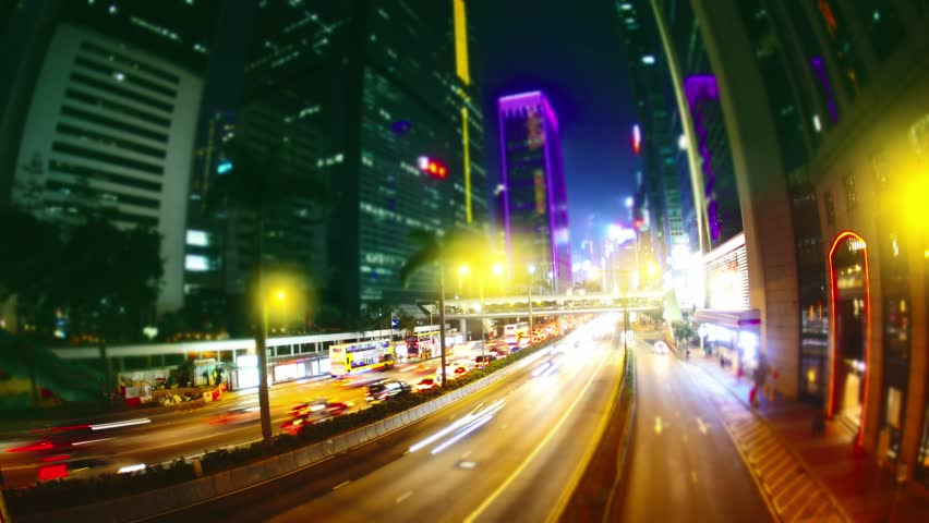 The Streets of Hong Kong. Time Lapse.  | Shutterstock HD Video #25924577