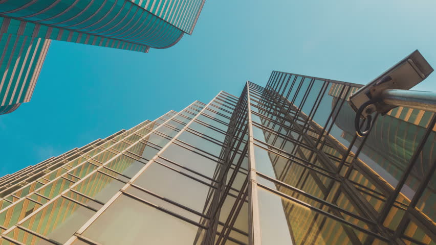 Skyscraper Buildings and Sky View | Shutterstock HD Video #26116682