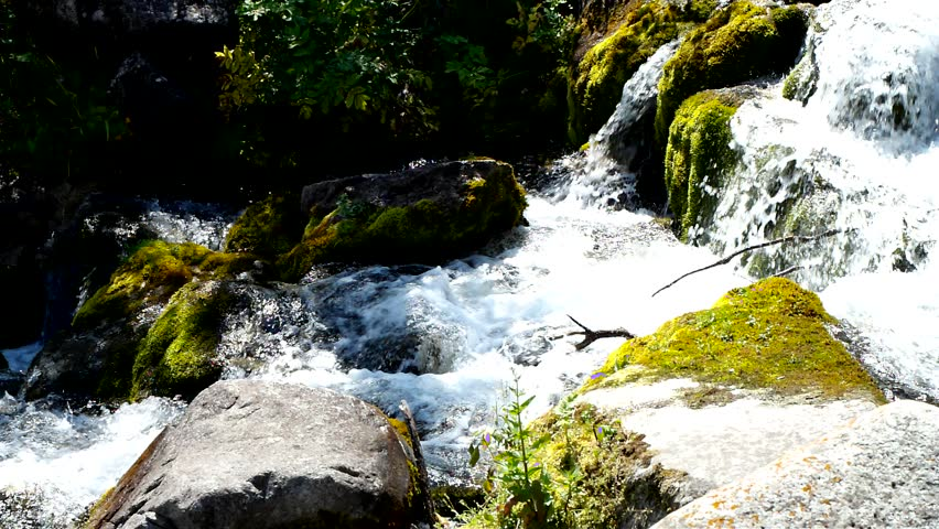 Mountain River - HD stock video clip