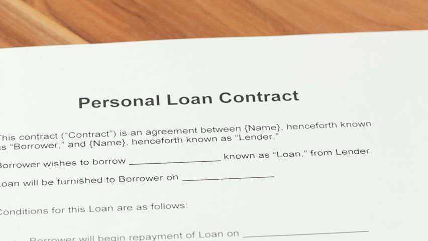 Personal loan definition/meaning