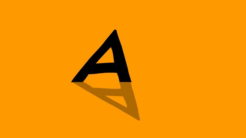 Hand drawn Animated Alphabet (animation loop)   Shutterstock HD Video #26226248