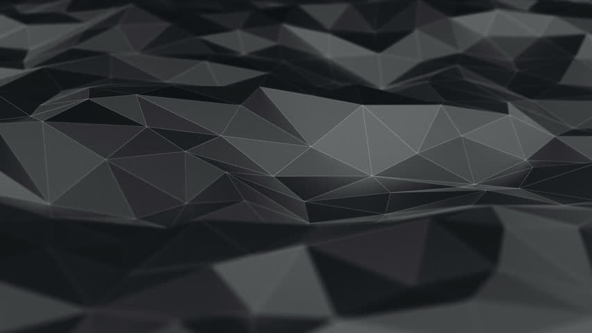 Background abstraction polygons dark | Shutterstock HD Video #26317760