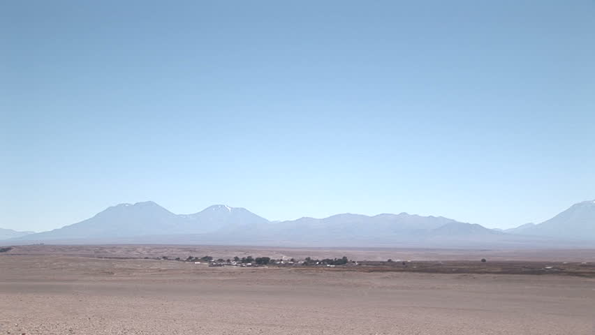 Atacama Desert, Chile - HD stock footage clip