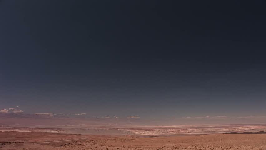 Atacama Desert, Chile - HD stock video clip