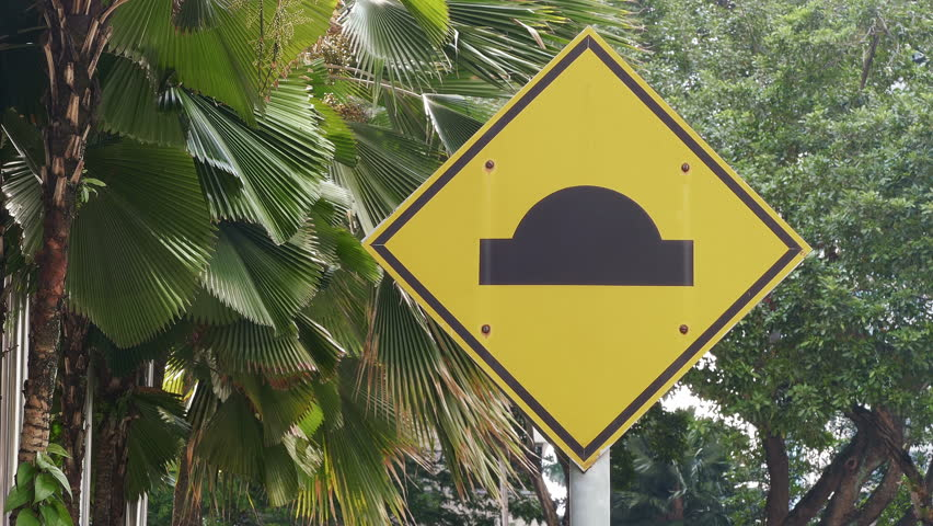 Speed hump definition meaning for Farcical noun